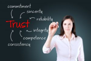 creating trusted salesperson